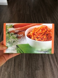 Frozen Carrot Spirals - Trader Joe's