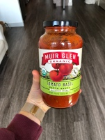 Muir Glen Tomato Basil Sauce - Willy Street Co-Op